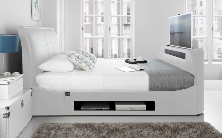 The Maximus Double TV Bed - TV Bed Store