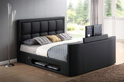 The Azure Super King Size Tv Bed 0 Finance Available Tv Bed Store