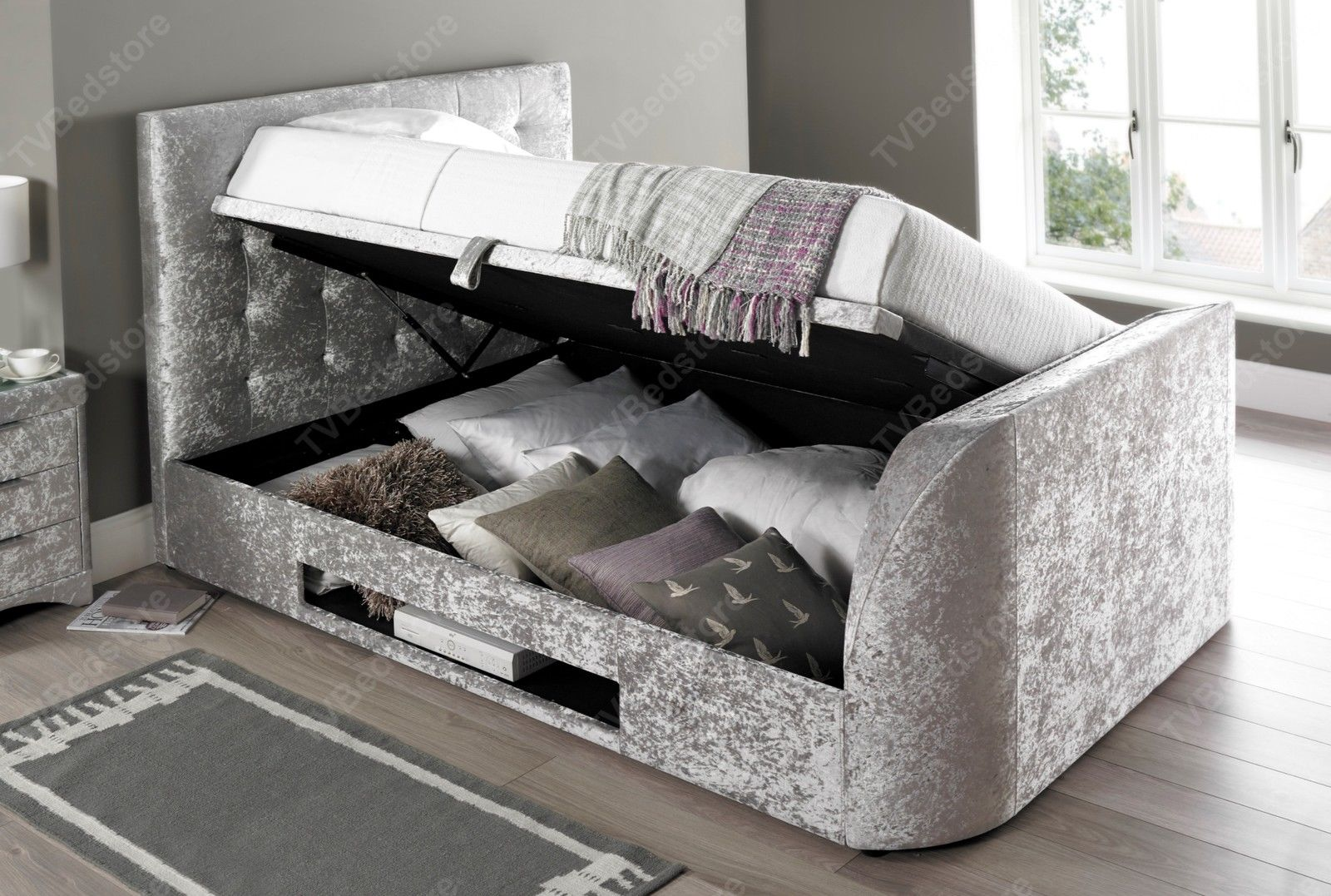 The Barnard Double TV Bed - TV Bed Store