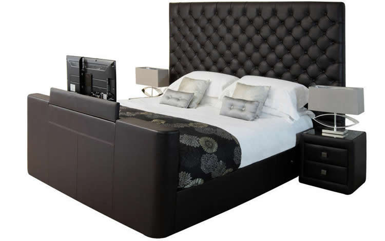The Encore Super King Size TV Bed