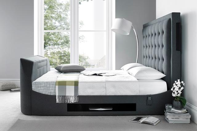 The Titan Super King Size Tv Bed Frame Tv Bed Store