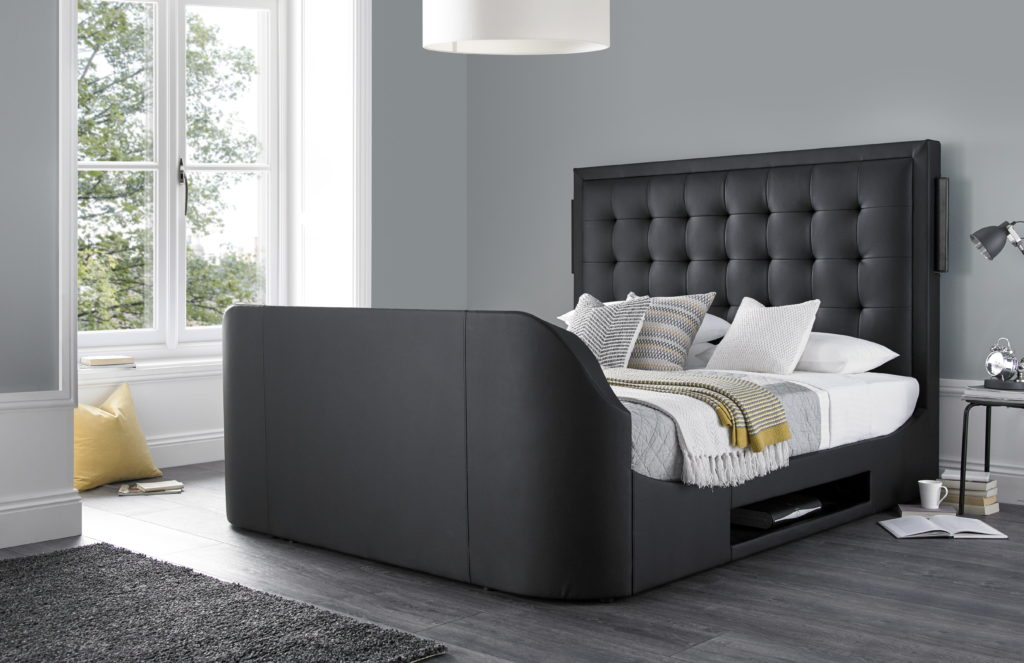 The Titan Super King Size Tv Bed Frame 0 Finance