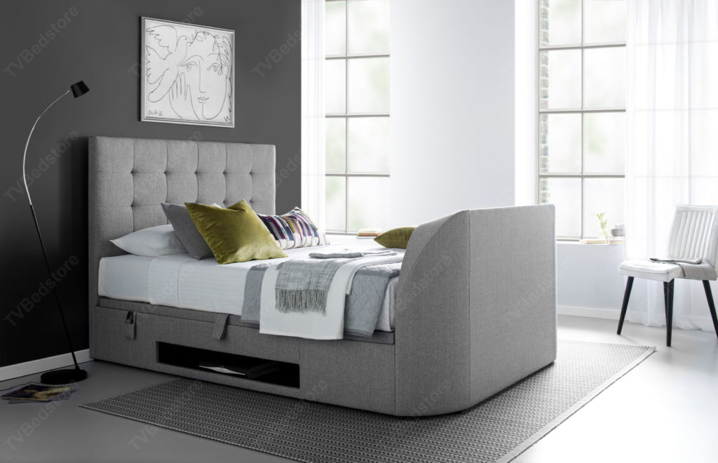 The Barnard Super King Size Tv Bed 0 Finance Available