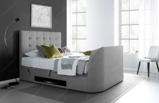 The Maximus Super King Size TV Bed (0% Finance Available) | TV Bed Store