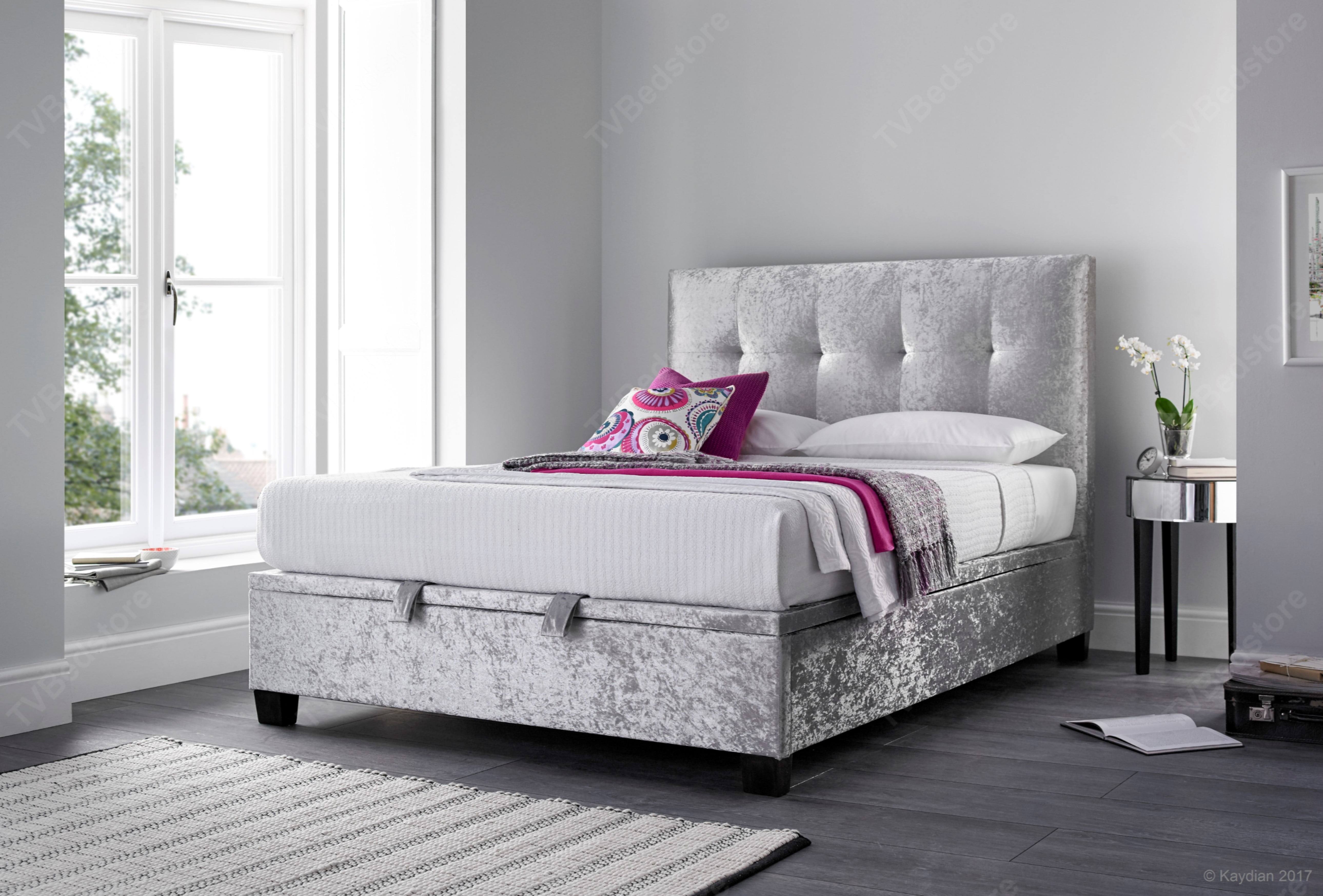 Kaydian Walkworth Ottoman Double Tv Bed Store