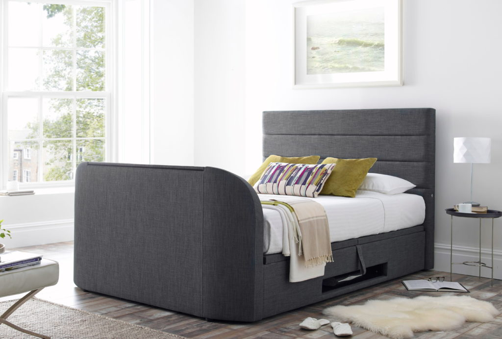 Annecy Storage Media Double Tv Bed Frame Tv Bed Store